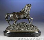 427 PIERRE JULES MNE French 18101879  A BRONZE SCU