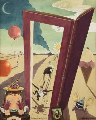 PEGGY PALMER BURROWS (American 1905-1979) A SURREAL
