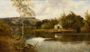 "HARRY FENNEL (British 19th Century) A PAINTING, ""Irish"