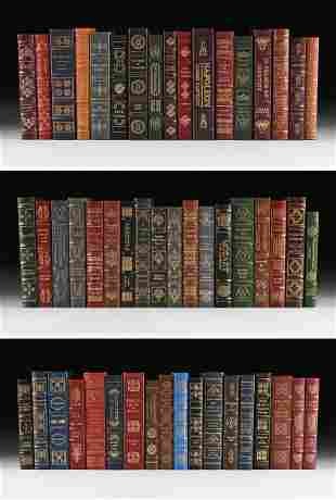 A GROUP OF FIFTY-TWO EASTON PRESS BIOGRAPHICAL TITLES
