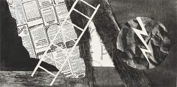 JAMES ROSENQUIST American 19332017 A PRINT Wind