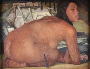 JORGE GONZÁLEZ CAMARENA (Mexican 1908-1980) A PAINTING,
