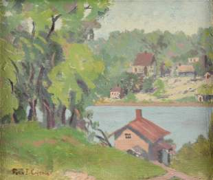 FERN ISABEL KUNS COPPEDGE (American 1883-1951) A
