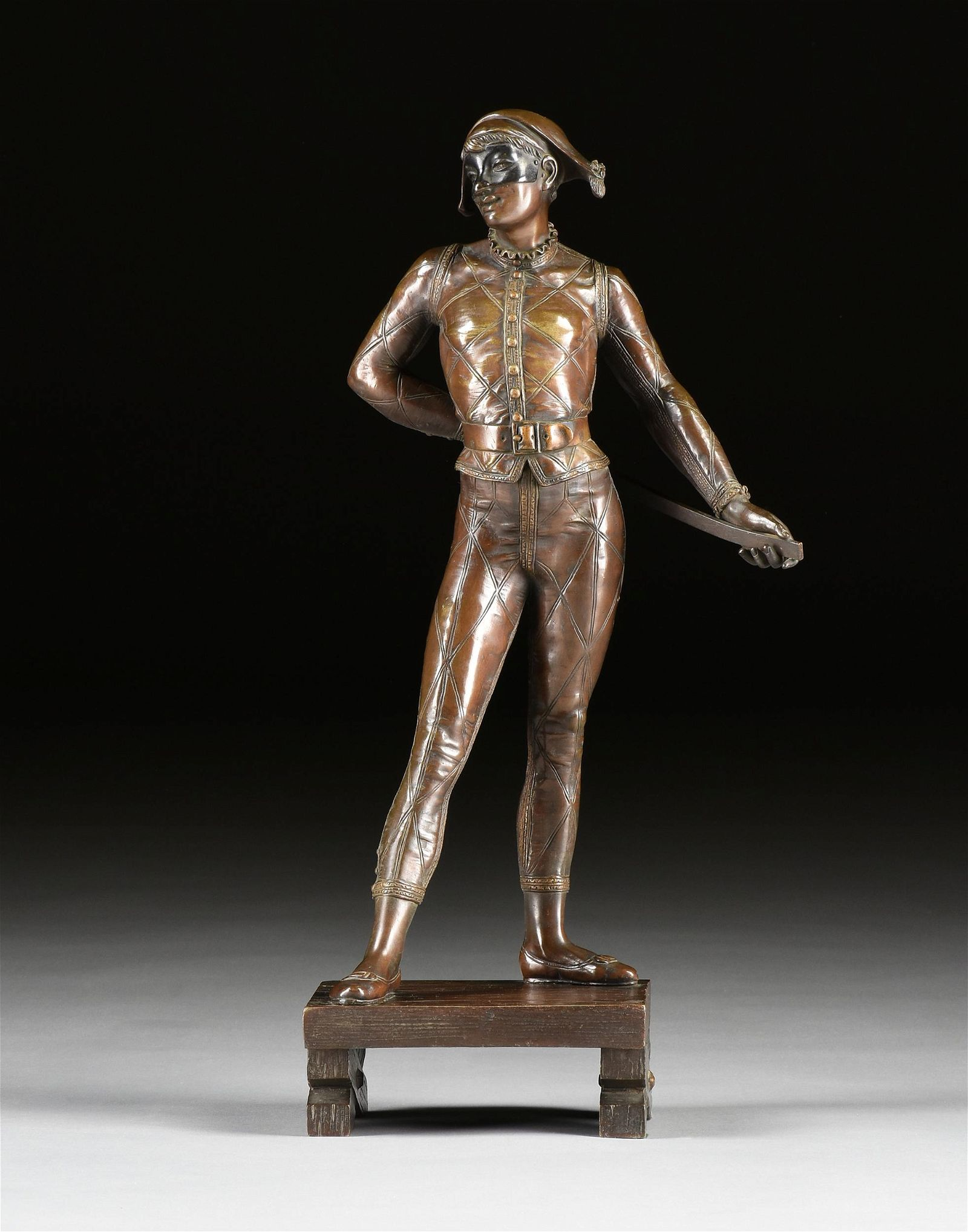 ALFRED PIERRE RICHARD (French 1844-1884) A BRONZE