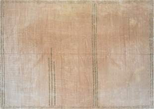 A BARBARA BARRY FOR TUFENKIEN LUXURY HAND WOVEN RUG,