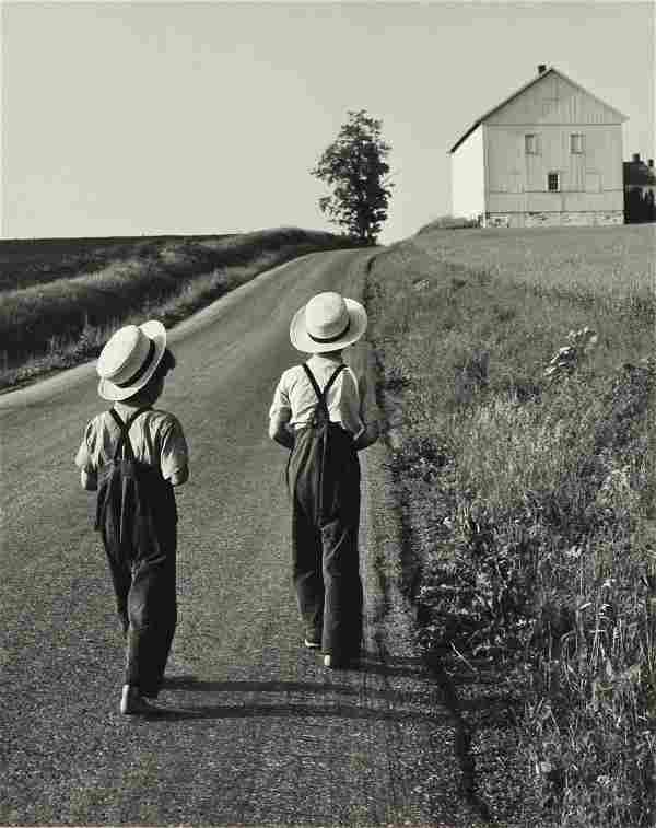 """GEORGE A. TICE (American b. 1938) A PHOTOGRAPH, """"Two"""
