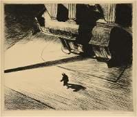 "EDWARD HOPPER (American 1882-1967) A PRINT, ""Night"