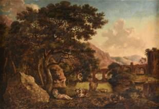 studio of JACOB VAN STRIJ (Dutch 1756-1815) A PAINTING,