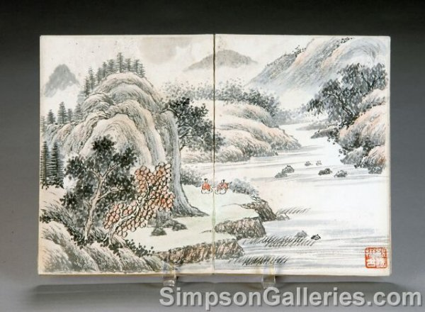 12: A CHINESE PAINTER'S LANDSCAPE SKETCHBOOK, by Wu Gua