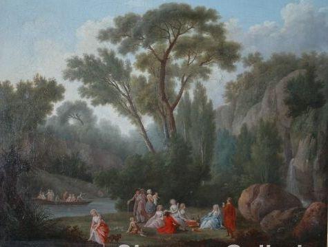 410: NICOLAS ANTOINE TAUNAY (Paris 1755-1830)  A PAINTI