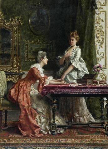 "236: GUGLIELMO ZOCCHI (Italian 1874 - )  A PAINTING, ""S"