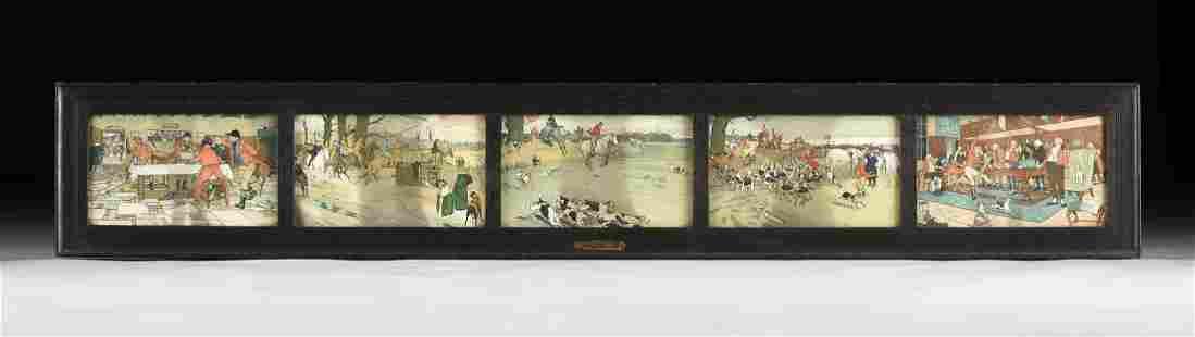 CECIL ALDIN (English 1870-1935) A GROUP OF FIVE