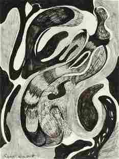 CHARLOTTE KLEBANOFF (American/Texas b. 1925) A DRAWING,