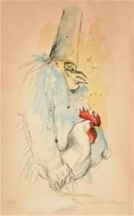 LEROY NEIMAN (American 1921-2012) A PRINT,