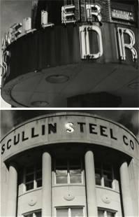 KEN KONCHEL (American b. 1959) TWO PHOTOGRAPHS,