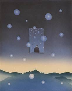 """JEAN-MICHEL FOLON (Belgian 1934-2005) A PRINT, """"Un"""