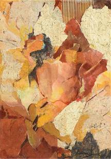 CHARLOTTE KLEBANOFF (American/Texas b. 1925) A COLLAGE,