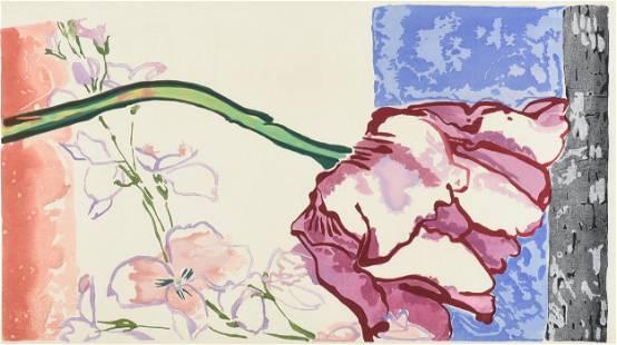 "ROBERT KUSHNER (American b. 1949) A PRINT, ""Hangzhou"