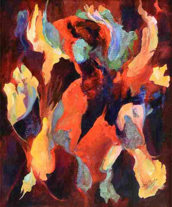 CHARLOTTE KLEBANOFF (American/Texas b. 1925) A