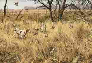 ELDRIDGE HARDIE (American/Texas b. 1940) A PAINTING,