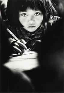 "XIE HAILING (Chinese b. 1951) A PHOTOGRAPH, ""Big Eyes,"""