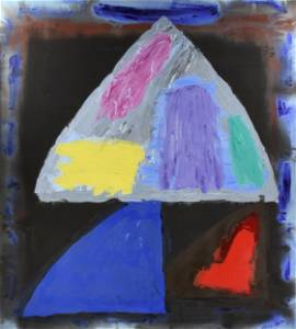 "JOHN HOYLAND (British 1934-2011) A PAINTING, ""Master of"