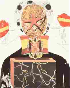 "SALVADOR DALI (Spanish 1904-1989) A PRINT, ""Surrealist"