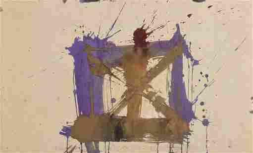 "MICHAEL TRACY (American/Texas b. 1943) A PAINTING, ""de"