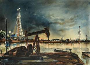 "EDWARD MUEGGE ""BUCK"" SCHIWETZ (American/Texas 1898-1984"