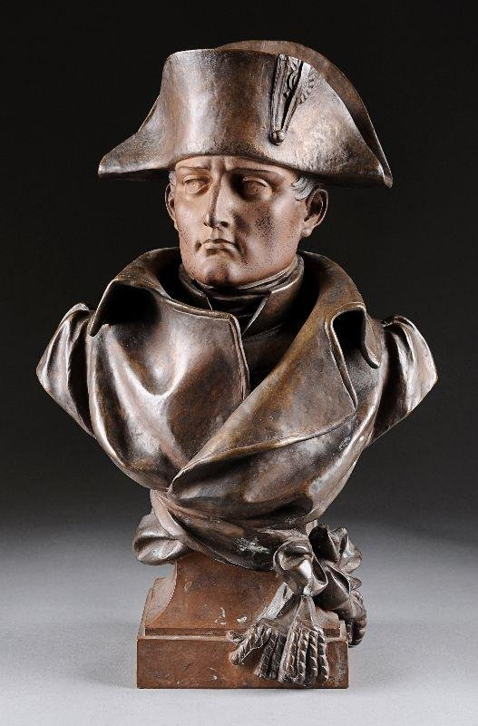 23: NOEL RUFFIER (French 1847-1921)  A BRONZE SCULPTURE