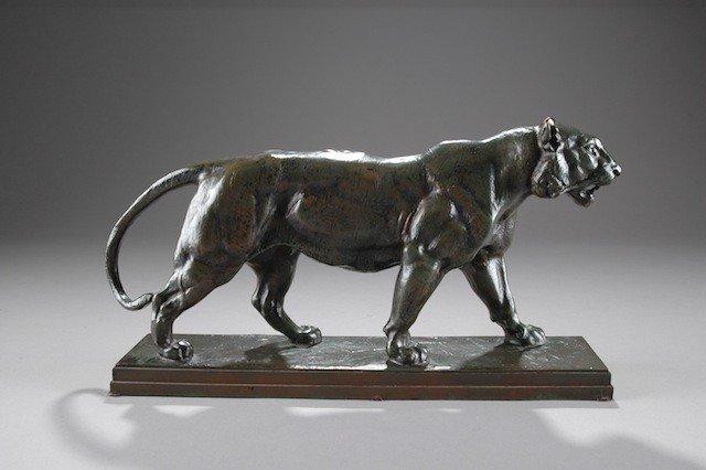 16: ANTOINE-LOUIS BARYE (French 1795-1875)  A BRONZE SC