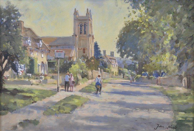 23: JOHN NEALE (ANGLO/AMERICAN 20th CENTURY) A PAINTING