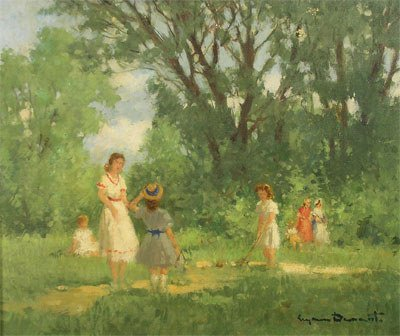 5: SUZANNE DEMAREST (American 1900 - 1985) A painting,
