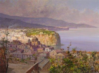 "18: VINCENZO LARICCHIA (Italian 1940 - ) A painting, ""S"
