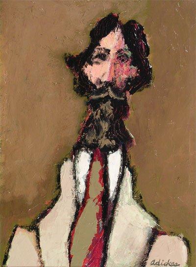 20: DAVID ADICKES (American/Texas 1927 - ) A painting,