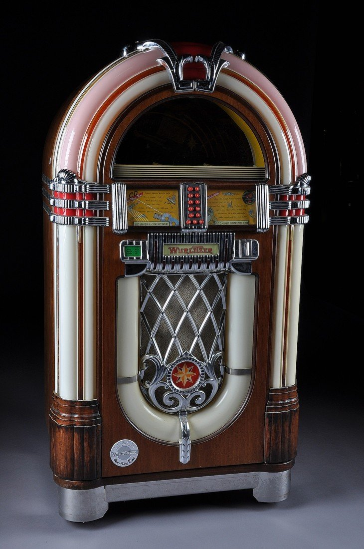 "1: A WURLITZER 1015 SPECIAL EDITION ""ONE MORE TIME"" JUK"