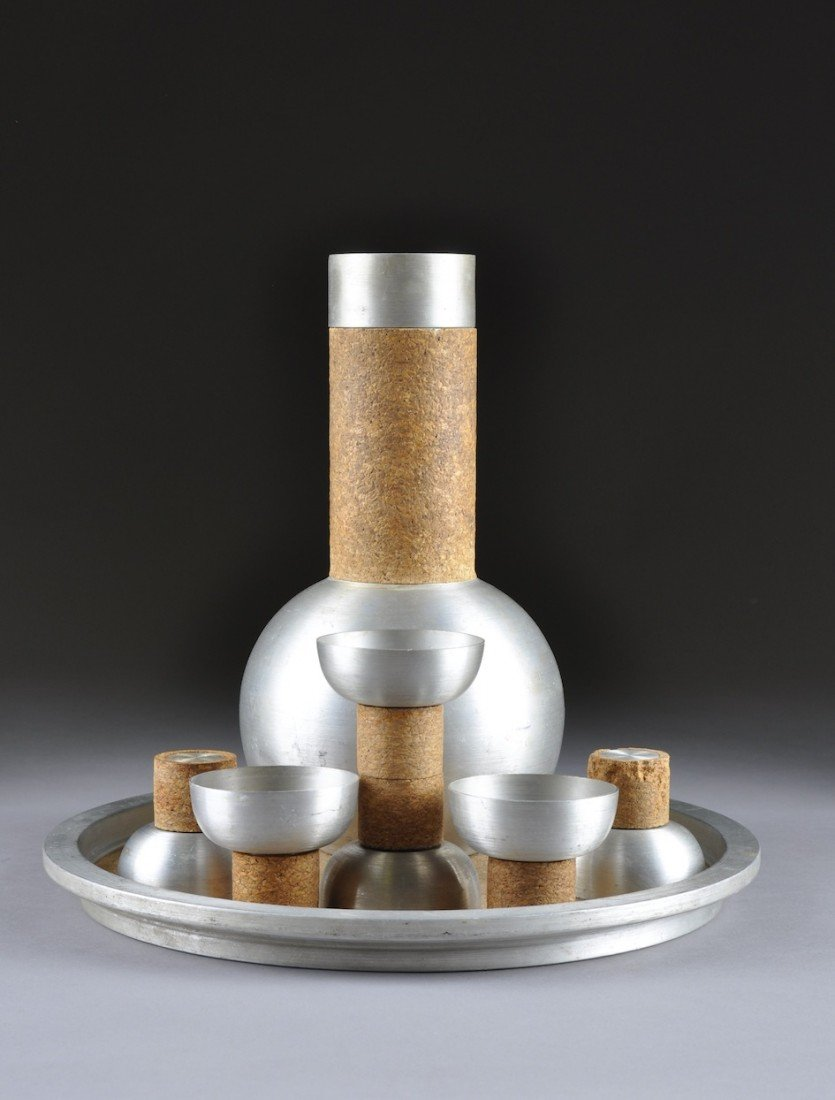 116: A RARE RUSSEL WRIGHT COCKTAIL SET, MODEL 326, CIRC