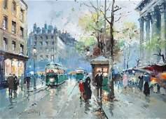"ÉDOUARD CORTÈS (French 1882-1969) A PAINTING, ""Pla"