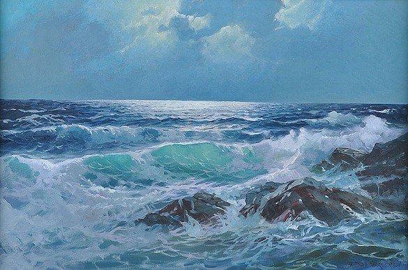 422: ALEXANDER DZIGURSKI (American 1911-1995) A PAINTIN