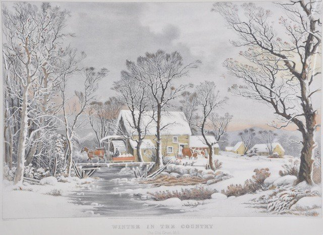 1C: CURRIER & IVES, Publishers (American, 1857-1907) A