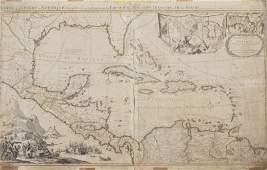 319: AN ANTIQUE MAP OF ARCHIPELAGUE DU MEXIQUE PAR JEAN