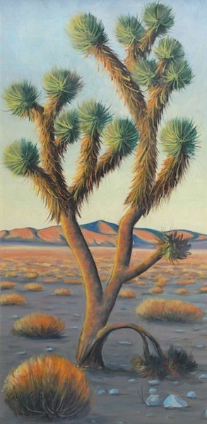 """15: CARL G. BRAY (American 1917-2011) A PAINTING, """"Dese"""