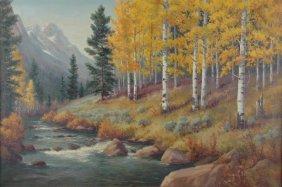 22: DOLLIE NABINGER (American/Texas 1905-1988) A PAINTI