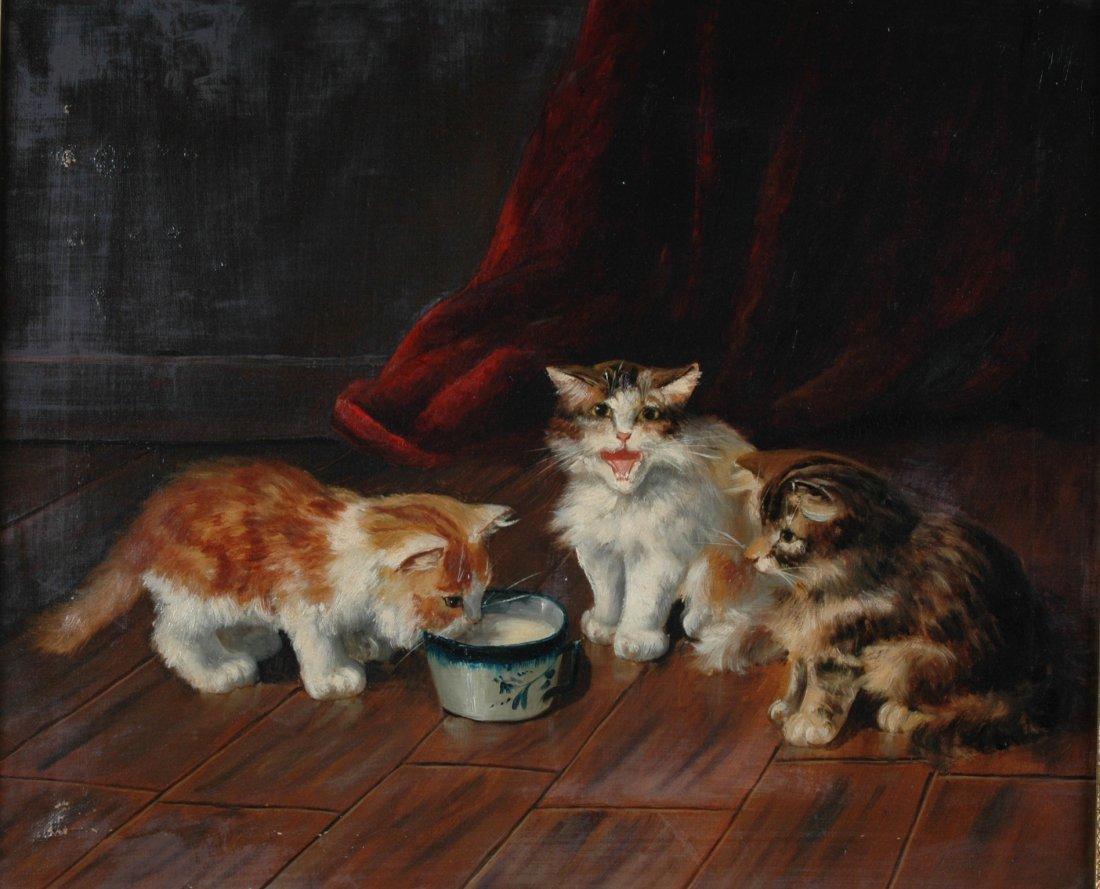 355:  ALFRED ARTHUR BRUNEL de NEUVILLE (French 1851-194