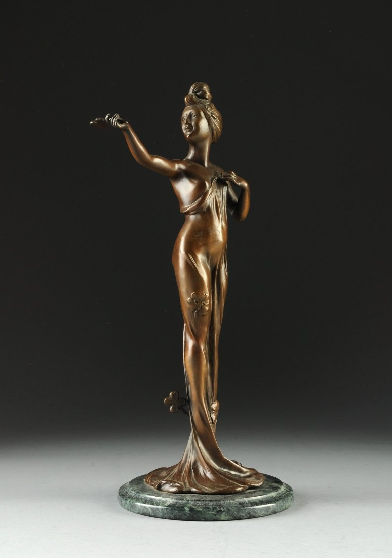 C. BONNEFOND (French, Late 19th/Early 20th Century) A B
