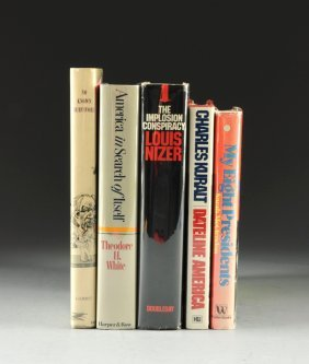 A COLLECTION OF FIVE BOOKS, AMERICAN AND POLITICAL COMM