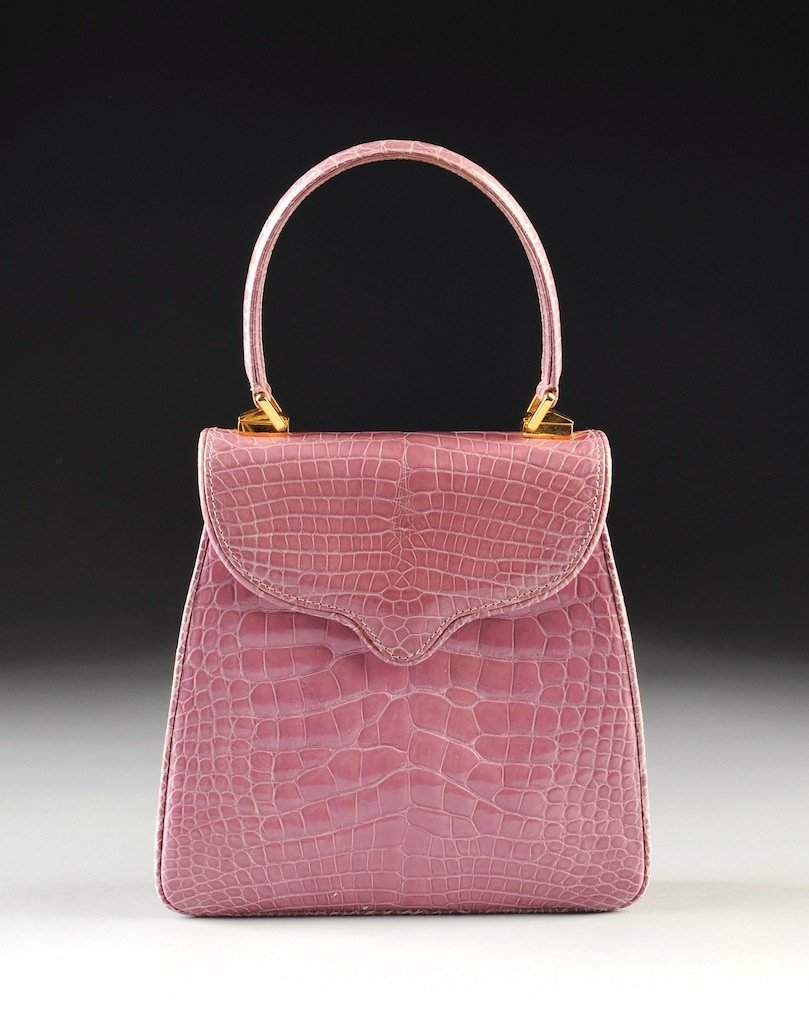 THE PRINCESS DIANA HANDBAG BY LANA MARKS IN LAVENDER AL