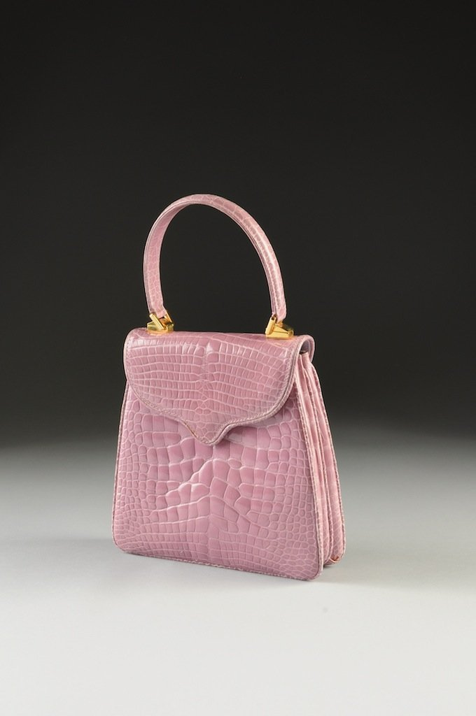 THE PRINCESS DIANA HANDBAG BY LANA MARKS IN LAVENDER AL - 2