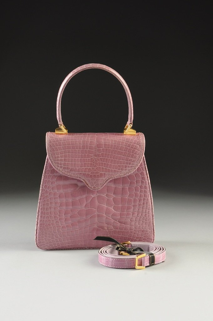 THE PRINCESS DIANA HANDBAG BY LANA MARKS IN LAVENDER AL - 5