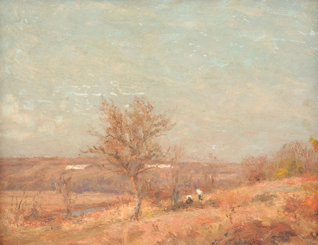 "JEAN MASSÉ (French 1856-1950) A PAINTING, ""Autumn"